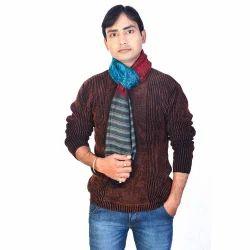 Kashmiri Design Men Silk Stole 178