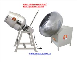Stainless Steel Namkeen Coating Mixing Machine