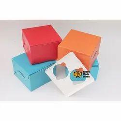 Pantone 2 Cavity Cupcake Box