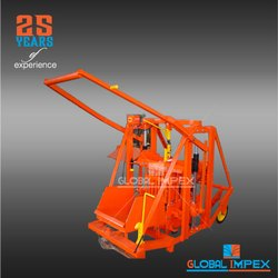 Manual Movable Concrete Block Machine