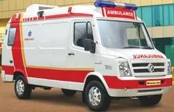 ICU Ambulance Tempo Traveler Rental