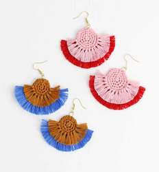 Crochet Tassels Earrings