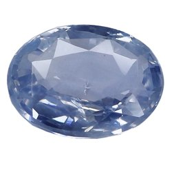 Light Blue Oval - Cut Loupe Clean Natural Ceylon Blue Sapphire
