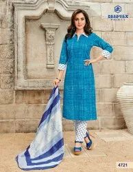 Deeptex Miss India Pure Cotton Salwar Suits