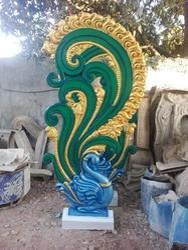 Decorative Peacock Statue