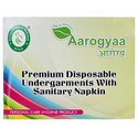 White Aarogyaa Premium Disposable Period Panty With Sanitary Napkin