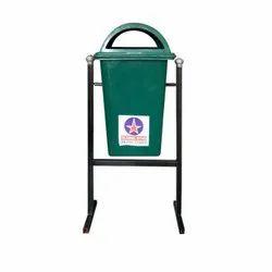 100 L Plastic Stand Dustbin