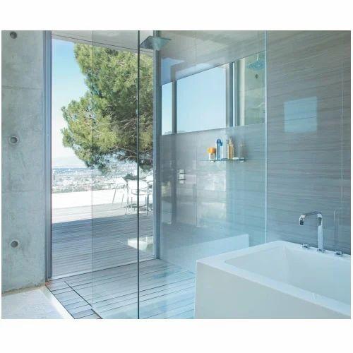 Glass Saint Gobain PURE Series Shower Cubicle, Shape: L Shape