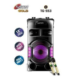 2.0 Black Tuscan Gold TG-553 Dj Speaker