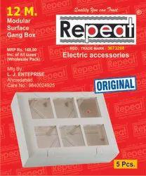 Electrical Modular Switch Board
