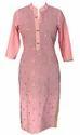 Lavanya Rayon Pink Kurta Without Lining