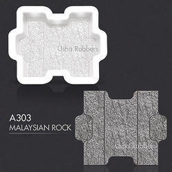 A303 Malaysian Rock Rubber Mould