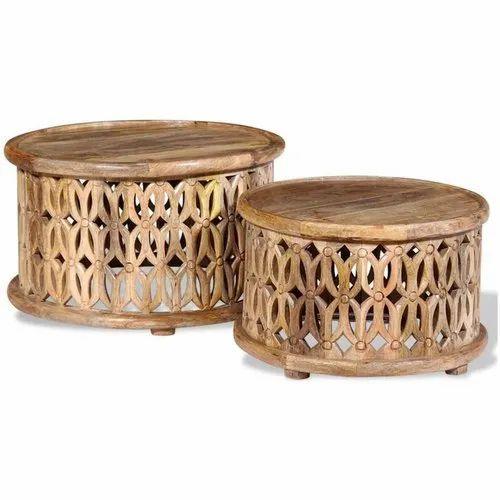 Mango Wood Coffee Table