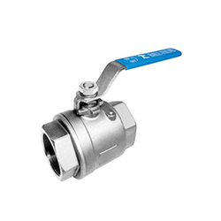 Ball Valve Two Piece Design