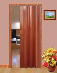 Brown PVC Folding Doors