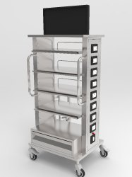 Hospital Laparoscopy Trolley