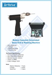 Battery Operated Bone Drill & Saw - Beta Surgicare Private
