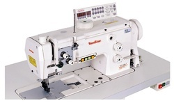 High Speed, 1/2-Needles, Unison Feed, Lock Stitch Sewing Machine