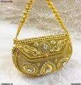 Stylish Metal Clutch Bag