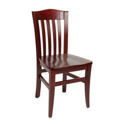 Dark Brown Wooden Chair