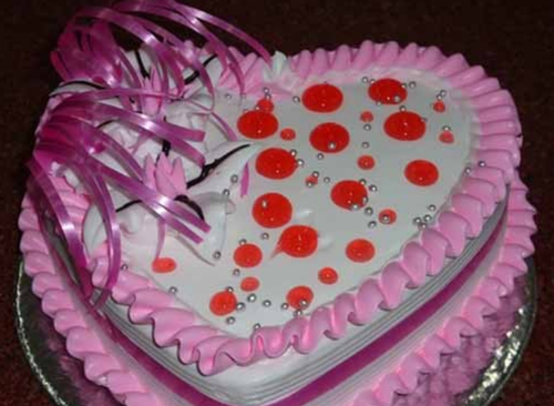 Deligh Heart Shape Cake At Rs 899 Piece Ananas Cake