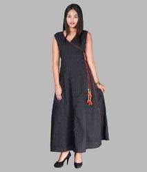 Cotton Floor Length Maxi Dress