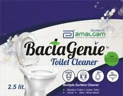 Chemical free toilet cleaner