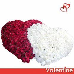 Double Sweetheart Arrangement  Of Roses