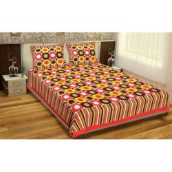 Jaipuri Printed Double Bedsheets