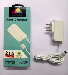 Travel Prolife Mobile Fast Charger Wired 2.1 Amp Premium