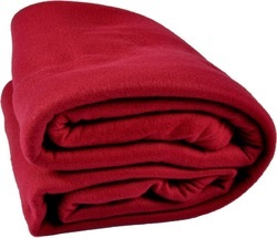 POLAR PLAIN FLEECE DOUBLE BED BLANKET
