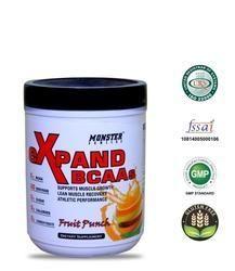 Vegetarian Monster Series eXpand BCAAs Fruit Punch 210 gm, Packing Size: 210, 210 Gm , Powder