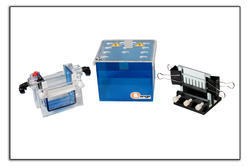 Mini Dual Vertical Gel Electrophoresis Unit (SDS - PAGE Apparatus)
