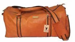 Dcuir Club Brown LUGGAGE BAG - TRAVEL BAG, Size/Dimension: 20 X 10 Inch