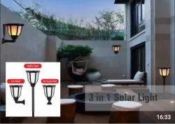 SOLAR GATE LAMP