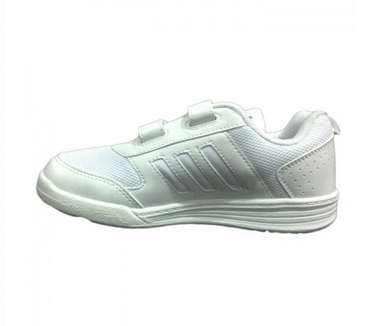 b58e27ae8d3522 Adidas White Velcro Shoes