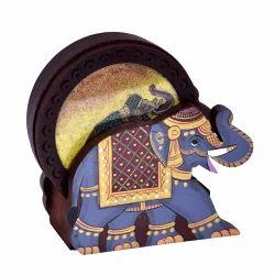 Wooden Tea Coaster Set