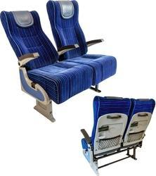 Meenakshi Polymers Red, Blue Maharaja Bus Seats, For Garage, Vehicle Model: 12