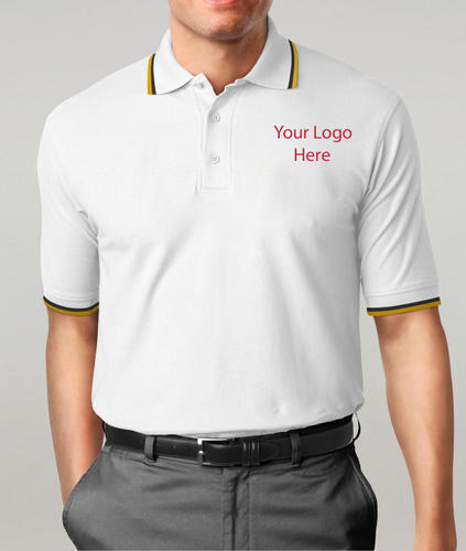 d4d9deb4f Men's Cotton Printed Corporate Polo T-Shirts, Rs 150 /piece | ID ...