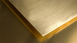 Yellow Natural Brass Sheets, 0.30mm To 4 Mm, Rectangular