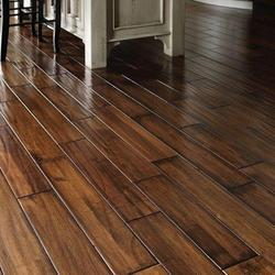 Brown Wooden Flooring, Thickness: 15 to 20mm