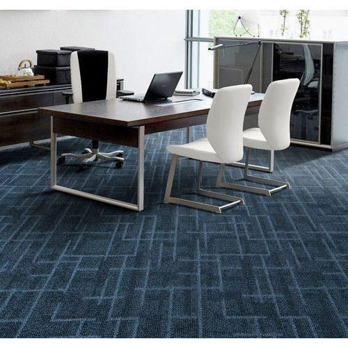 And PVC And Printed Office Modern Carpet