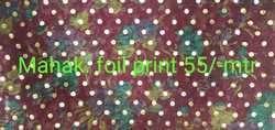 Mahak Foil Print Fabrics