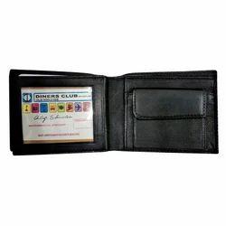 Maskino Black Genuine Leather Wallet