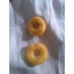 Rice Flour Masala Salted Rice Puff Rings Snacks, Packaging Type: Packet
