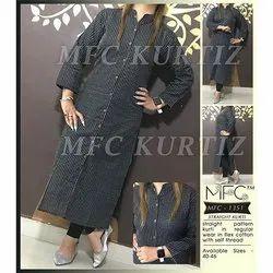 MFC 1351 Straight Flex Cotton Kurti