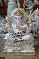 Ganesha Stone Statue