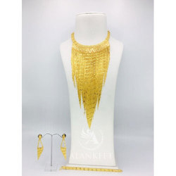 Fancy Chain Necklace Set