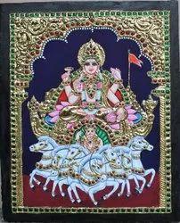 Suryabhagvan Tanjore Painting