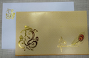 White And Golden Hindu Wedding Card Oct-5590